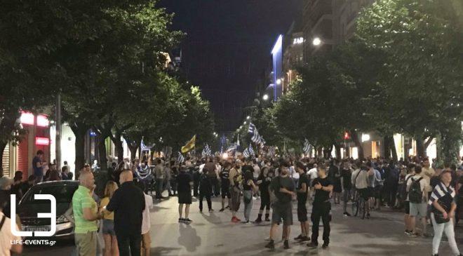 Τα ΜΑΤ στο πλευρό τους θέλουν οι διοργανωτές του συλλαλητηρίου της 8ης Σεπτεμβρίου στη Θεσσαλονίκη