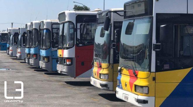 """ΟΑΣΘ: """"Πάνω από 550 λεωφορεία στις αρχές Σεπτεμβρίου"""""""