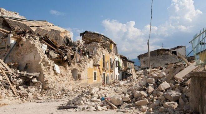 Διαμαρτυρία των σεισμόπληκτων στην Βρίσα της Μυτιλήνης