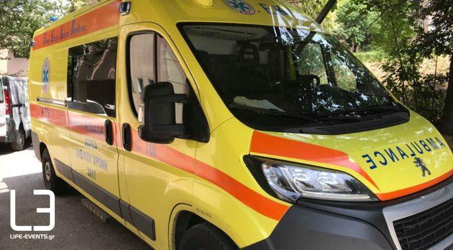 Τροχαίο στη Βέροια: Σε σοβαρή κατάσταση 34χρονη