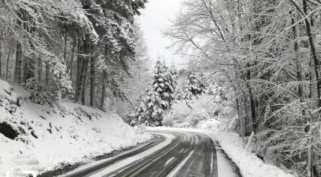 Χαλκιδική χιόνια