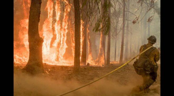 χάρτης Ηλεία πυρκαγιά