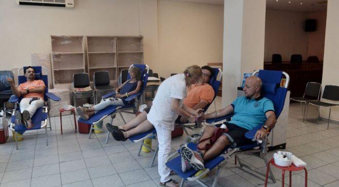 Σε εξέλιξη η Εκτακτη Αιμοδοσία στο δήμο Νεάπολης- Συκεών
