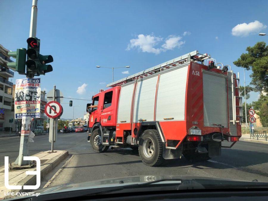 Θεσσαλονίκη κίνδυνος πυρκαγιάς