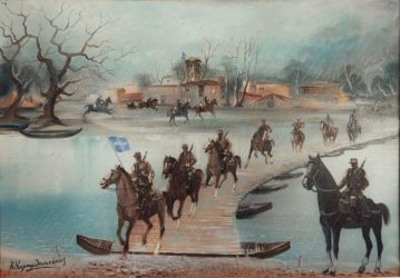 Εκθεση του ζωγράφου Κώστα Καραμπουκάκη στη Χαλάστρα