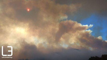 Φωτιά τώρα: Συνεχίζεται η μάχη στο πύρινο μέτωπο στα Γρεβενά