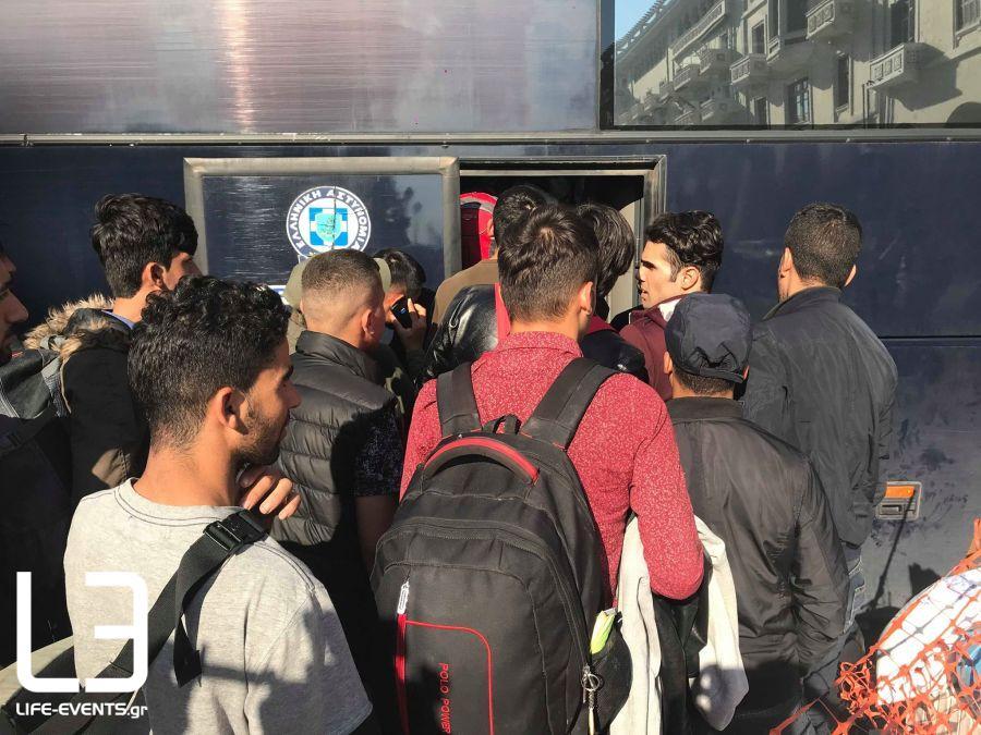 μετανάστες Θεσσαλονίκη