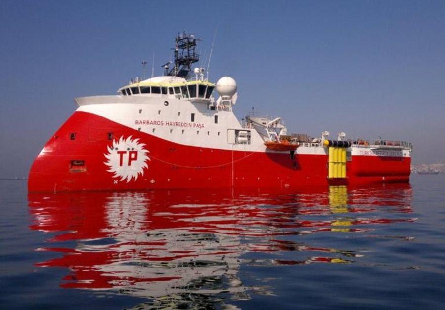 Πλέει προς την κυπριακή ΑΟΖ το τουρκικό ερευνητικό σκάφος Barbaros