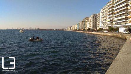 Επίδειξη ανακατάληψης πλοίου στο λιμάνι Θεσσαλονίκης στο πλαίσιο της 85ης ΔΕΘ