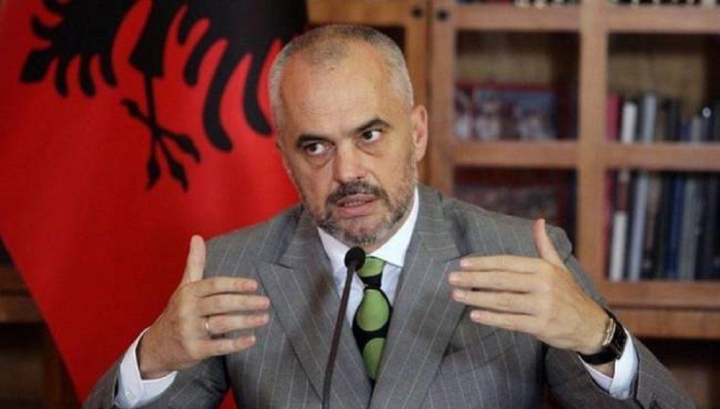 Αλβανία Ελλάδα κορονοϊό Ράμα