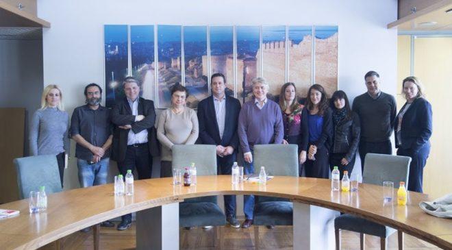 Συνάντηση εργασίας με αντικείμενο τις πολιτικές του Δήμου Θεσσαλονίκης για το προσφυγικό