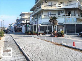 Αρχίζει το έργο ανάπλασης στο παραλιακό μέτωπο του δήμου Θερμαϊκού
