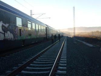 Τέσσερα τρένα εγκλωβίστηκαν στο Αιγίνιο