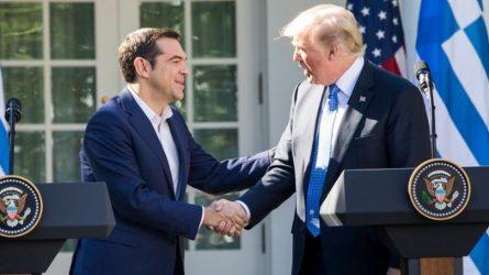 Συγχαρητήρια Ντ. Τράμπ σε Αλ. Τσίπρα για τη Συμφωνία των Πρεσπών
