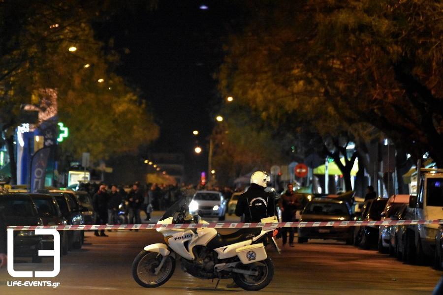 εκτέλεση τρικάκια Θεσσαλονίκη αστυνομία Θεσσαλονίκης