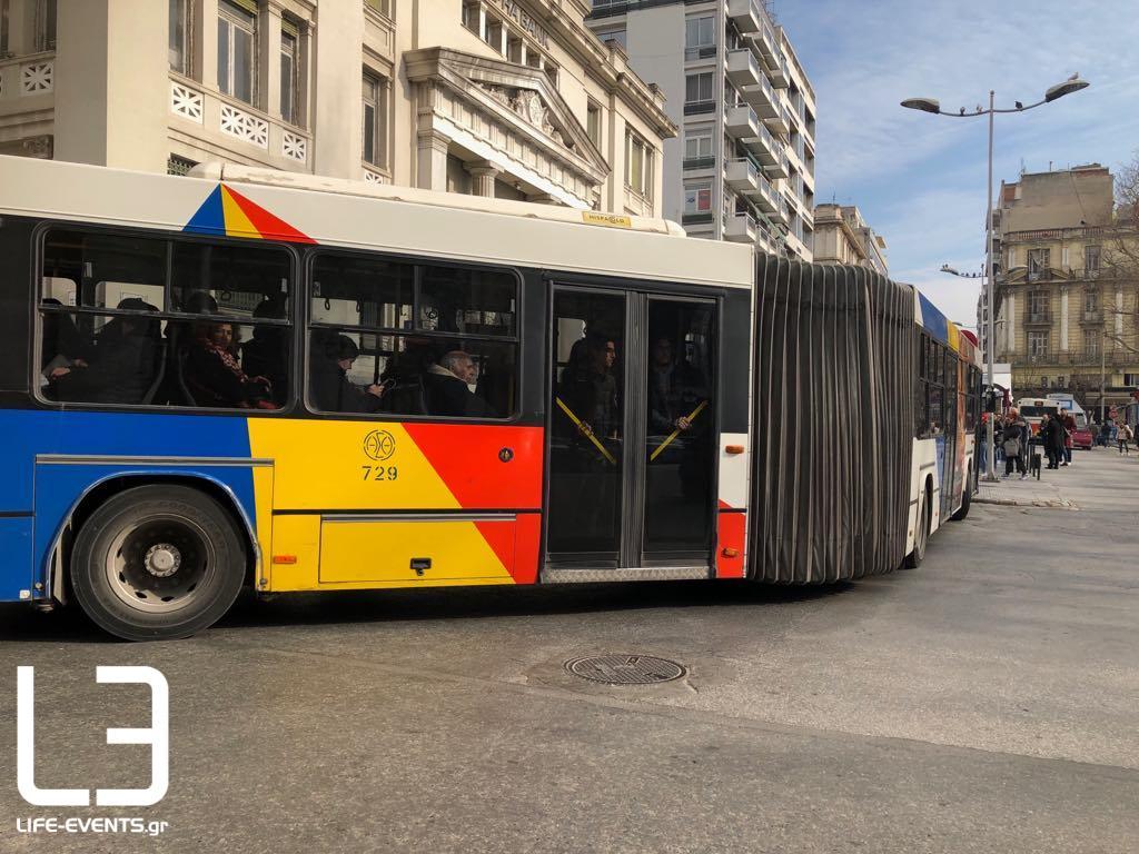 oasth ΟΑΣΘ λεωφορείο Θεσσαλονίκη