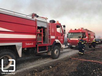 Πυρκαγιά σε κάμπινγκ στην Αγία Τριάδα