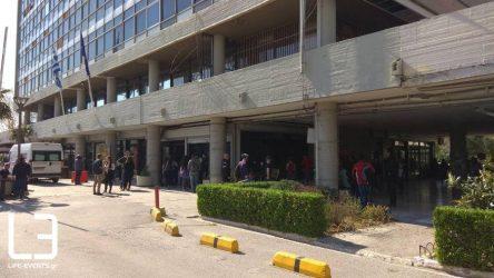 thessaloniki ktirio prytanias apth ΑΠΘ κορονοϊό Θεσσαλονίκη
