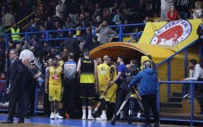 Basket League: Ξύλο και διακοπή στο Περιστέρι