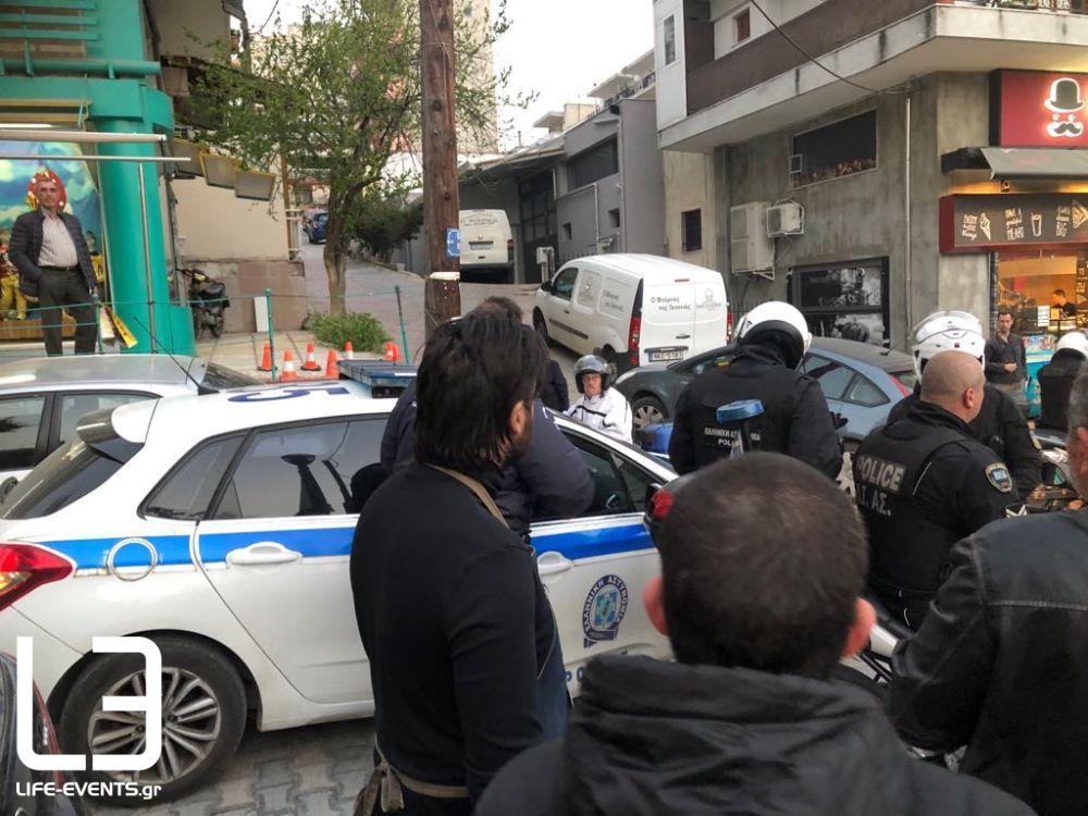 symploki astynomia Θεσσαλονίκη Διαβατά
