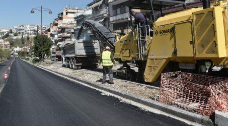 Ανακατασκευή κεντρικού οδικού άξονα στις Συκιές