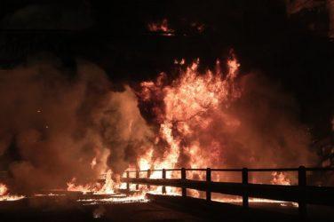 Μεγάλη πυρκαγιά στην Καταλονία