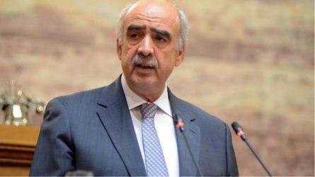 Ευρωβουλή: Ο Μεϊμαράκης ζητά αναστολή ενταξιακών διαπραγματεύσεων με την Τουρκία