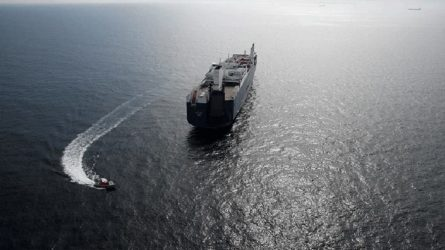 Γαλλία: Ακτιβιστές προσπαθούν να σταματήσουν τη φόρτωση σαουδαραβικού πλοίου