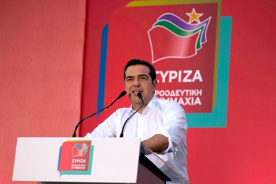 Τσίπρας ΣΥΡΙΖΑ