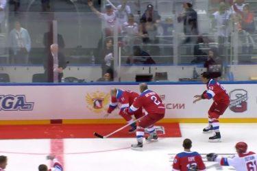 Η τούμπα του Πούτιν σε γήπεδο χόκεϊ (ΒΙΝΤΕΟ)
