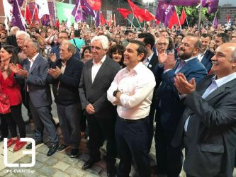 """Αλ. Τσίπρας """"Η Θεσσαλονίκη στέλνει μήνυμα νίκης"""" (ΒΙΝΤΕΟ & ΦΩΤΟ)"""