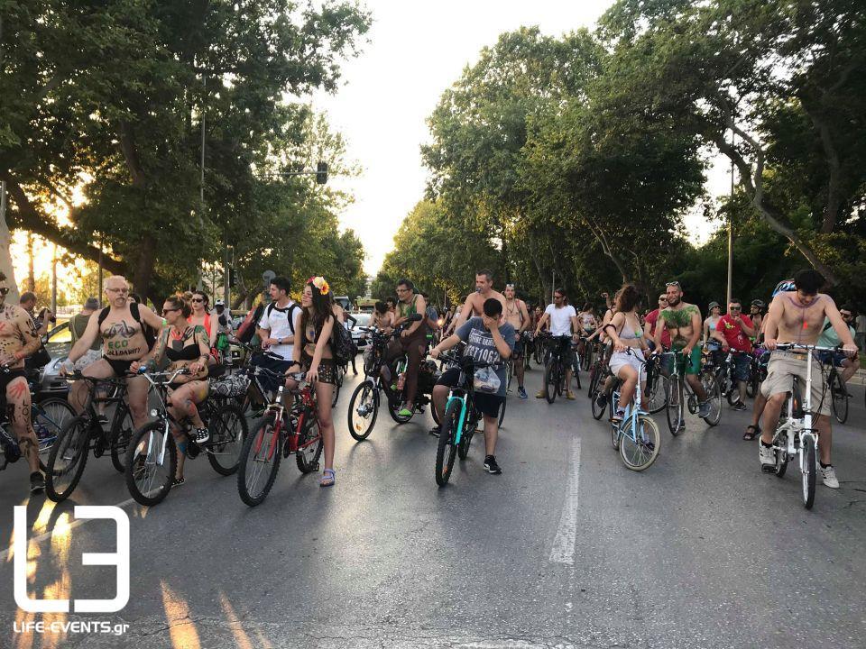 Θεσσαλονίκη: Σήμερα η 13η Διεθνής Γυμνή Ποδηλατοδρομία