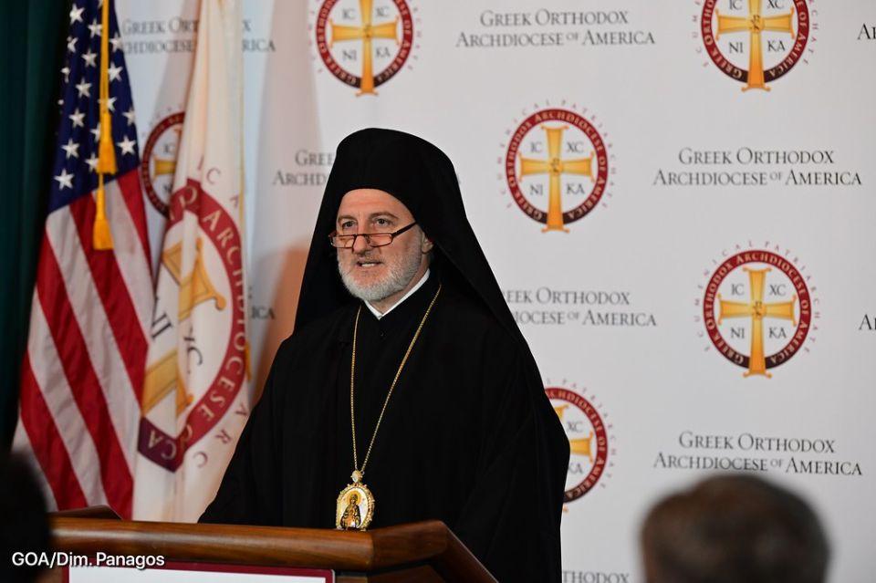Αρχιεπίσκοπος Ελπιδοφόρος Αγία Σοφία