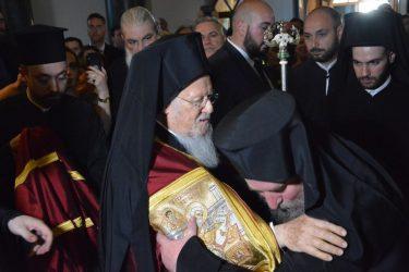 Ενθρονίστηκε ο νέος ηγούμενος της ιστορικής Μονής στη Χάλκη (ΦΩΤΟ)