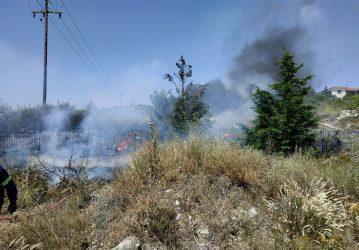 ΕΚΤΑΚΤΟ: Φωτιά σε περιοχή της Χαλκιδικής