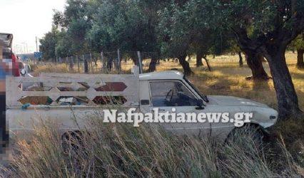Σφοδρή σύγκρουση οχημάτων στον Πλατανίτη Ναυπακτίας (ΒΙΝΤΕΟ & ΦΩΤΟ)