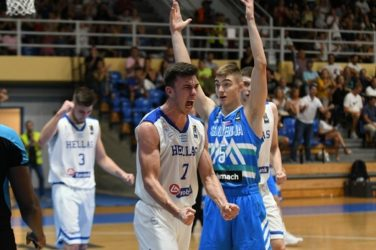 Καλό μπάσκετ και νίκη με 72-54 για την Εθνική εφήβων απέναντι στη Σλοβενία