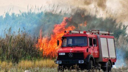 Τριάντα δύο πυρκαγιές από το πρωί σε όλη την Ελλάδα