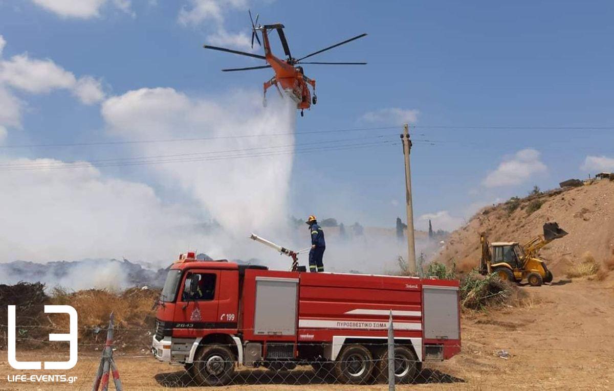 pyrosvestiki fotia κίνδυνος πυρκαγιάς Θεσσαλονίκη φωτιά