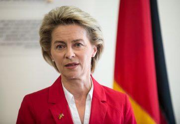 Η Ούρσουλα φον ντερ Λάιεν εξελέγη πρόεδρος της Ευρωπαϊκής Επιτροπής