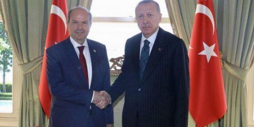 Συνάντηση Ερντογάν με την ηγεσία των κατεχομένων, στο τραπέζι και η κυπριακή ΑΟΖ