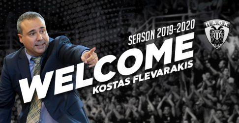 Προπονητής του ΠΑΟΚ ο Κώστας Φλεβαράκης