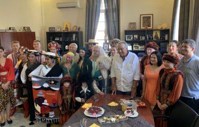Συνάντηση πολιτισμών στο Δημαρχείο Πολυγύρου
