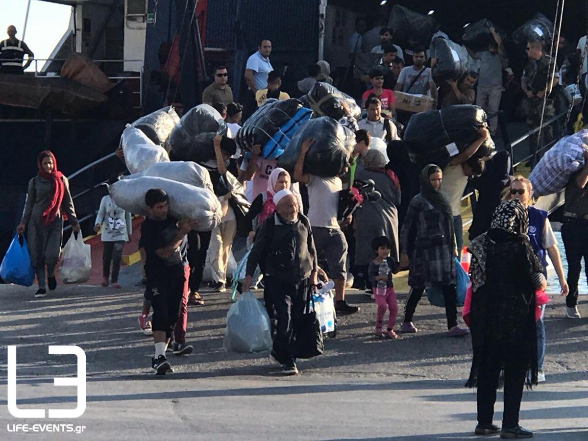 thessaloniki limani afixi metanaston metanastes prosfyges ploio πρόσφυγες μετανάστες Γερμανία