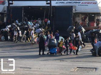Ακόμη 1.000 αιτούντες μετακινούνται από τα νησιά στα ηπειρωτικά
