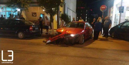 Ενας τραυματίας σε σύγκρουση ΙΧ με λεωφορείο λίγο έξω από την Θεσσαλονίκη