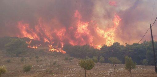φωτιά, πυρκαγιά, Ζάκυνθο, Πυροσβεστική