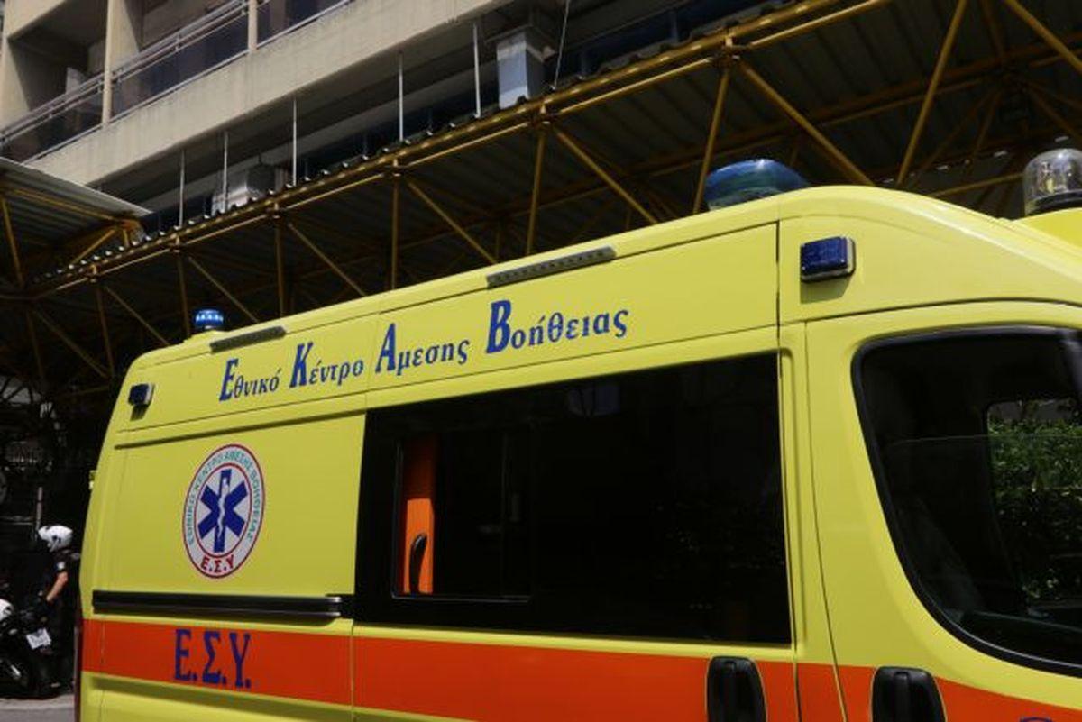Αγρια επίθεση σε διασώστη του ΕΚΑΒ