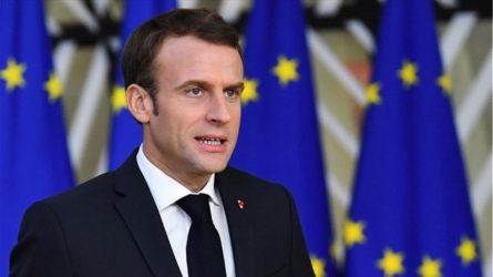 """Μακρόν: """"Παρατείνεται η καραντίνα στη Γαλλία μέχρι 11 Μαΐου"""""""