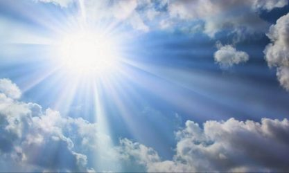 Μάιος Καιρός καιρός ήλιος αφρικανική σκόνη